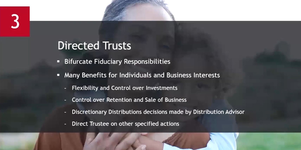 Directed Trusts, Delaware offers for your Trust